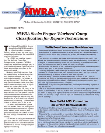 Current NWRA Newsletter